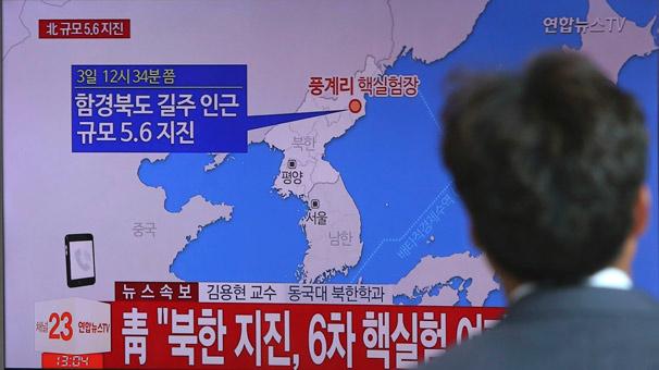 Son dakika: Kuzey Kore hidrojen bombası denedi, 6.3'lük deprem oldu!