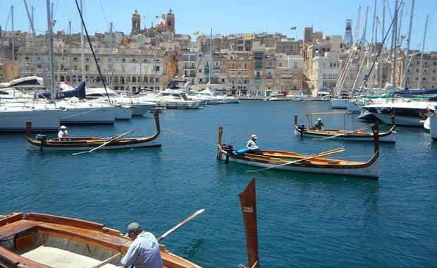 Şövalyeler adası Malta...