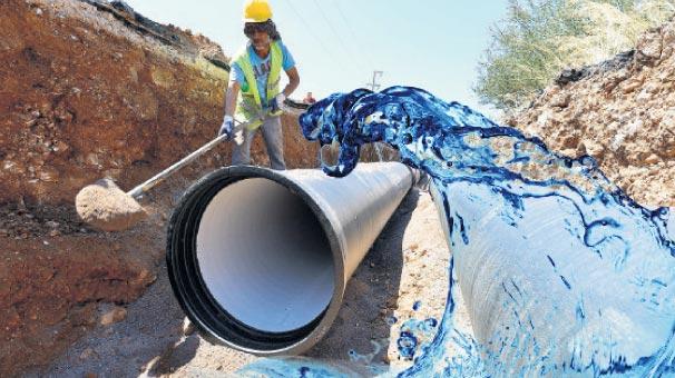 Çeşme'ye 37 milyon liralık su yatırımı