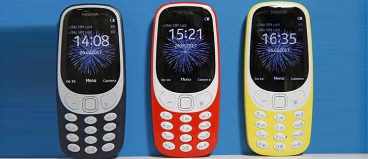 Nokia 3310'un 3G Destekli Modelinin Fiyatı Açıklandı
