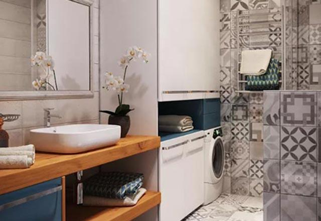 Çamaşır makinesini saklamak için 7 öneri