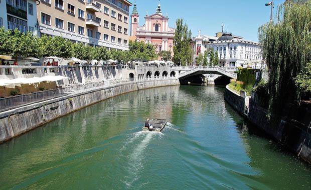 Avrupa'nın şirin başkenti Ljubljana