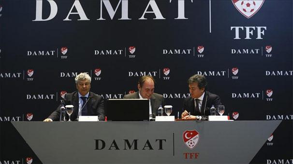 TFF, Damat ile sponsorluk anlaşması imzaladı