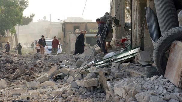 Son dakika Halep'teki kanlı saldırıda ölü sayısı korkunç seviyeye yükseldi