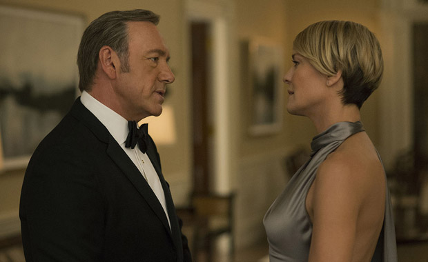House of Cards Robin Wright'a emanet