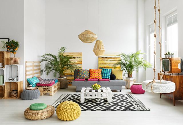 Mutlu evler için dekorasyon önerisi