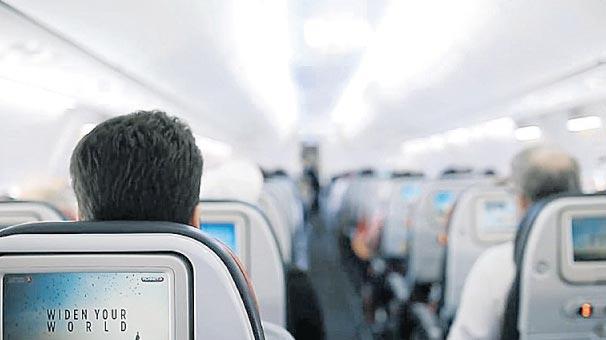 28 bin yolcu yeni  yıla havada girdi