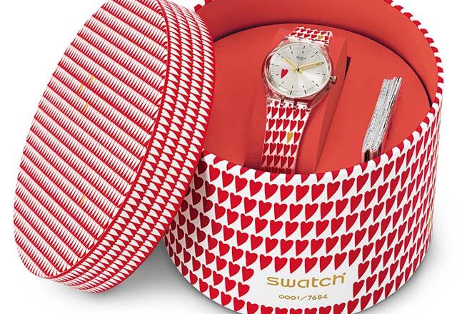 Swatch'tan Sevgililer Günü özel saati