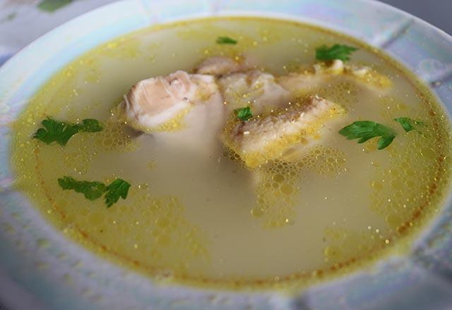 Tavuk çorbası yapılışı