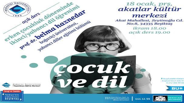 Boğaziçi Üniversitesi'nden çocuklara erken yaşta yabancı dil öğretme dersi
