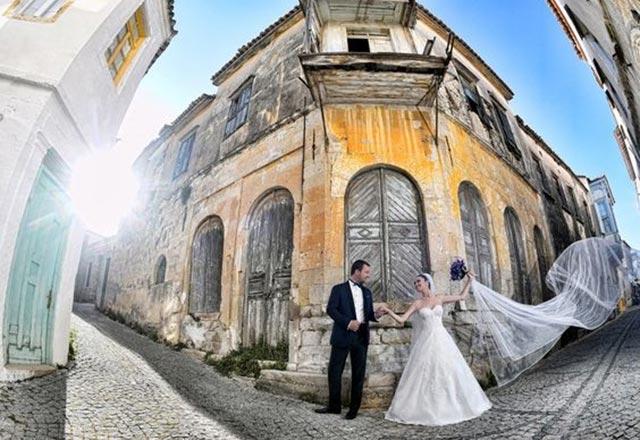 Düğün fotoğraflarında yeni trend