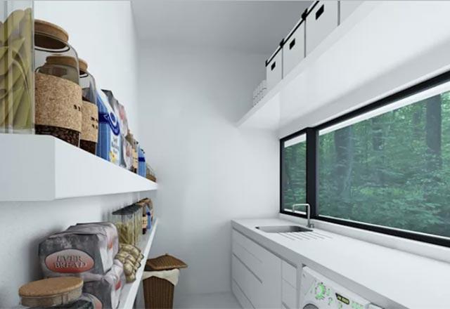 Kusursuz bir çamaşır odası için birbirinden güzel dekoratif fikirler