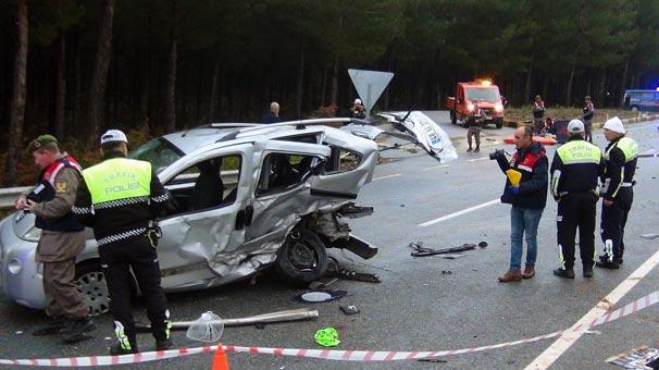 Muğla'da kaza: 3 ölü, 6 yaralı