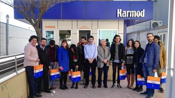 Kocaeli Üniversitesi'nin yabancı öğrencilerinden Karmod'a ziyaret