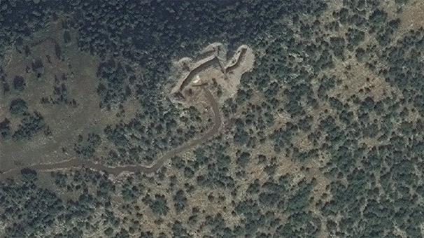 Son dakika... Uydudan görünen beton mevziler imha edildi!