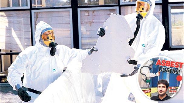 Asbest, 30 yılda  500 bin can alacak