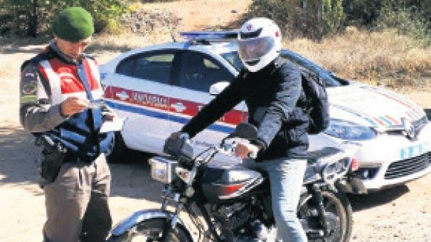 2 bin motosikletliye can kurtaracak eğitim