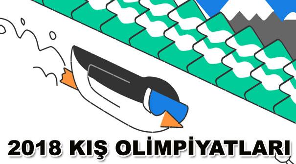 2018 Kış Olimpiyatları unutulmadı! Doodle Kış Oyunlarının 1. günü