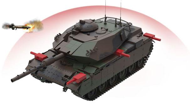 ASELSAN'dan flaş hamle! Tanklar kendini koruyacak