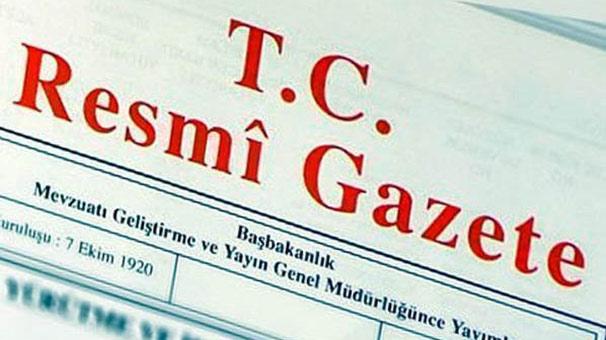 Bakanlıklara ait atama kararları Resmi Gazete'de yayımlandı