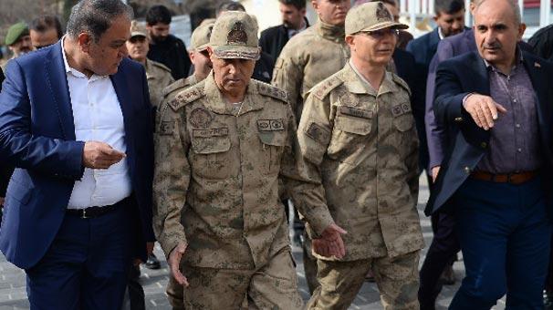 Jandarma Genel Komutanı Orgeneral Çetin Kilis'te