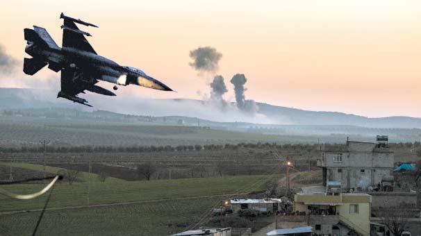 Son dakika: Afrin'de öldürülen terörist sayısı 1062'ye yükseldi
