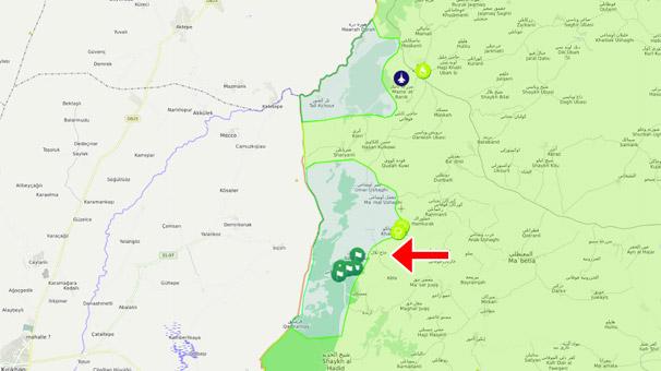 Son dakika... Batı cephesinde hat birleşti! Bir günde 8 köy YPG'lilerden alındı