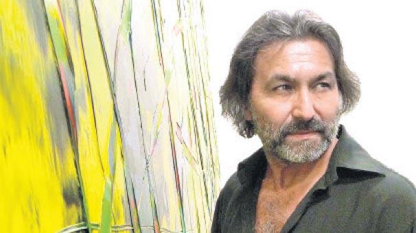 Soyut resmin  ustası Oran, Ekol Sanat Galerisi'nde