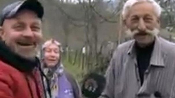 Bağırarak röportaj veren adam sosyal medyayı salladı!