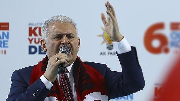 Başbakan Yıldırım: Bu yoldan vazgeçin yoksa sonuçlarına da katlanırsınız