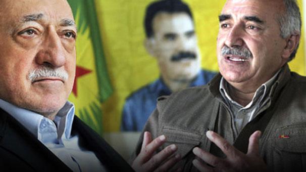 """FETÖ-PKK'nın """"terör"""" dayanışması"""