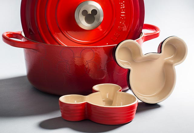 Mickey Mouse özel koleksiyonu mutfakta