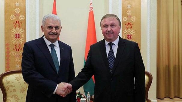 Başbakan Yıldırım: Belarus'un Afrika'ya açılma projesini destekliyoruz