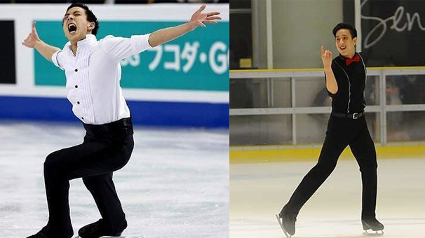 Julian Yee: Kar yağmayan Malezya'dan çıkan buz pateni şampiyonu