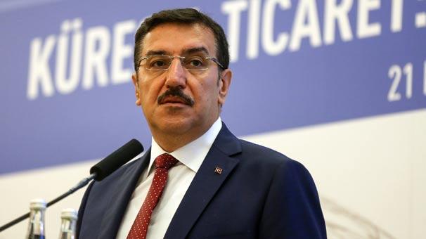 Gümrük ve Ticaret Bakanı Tüfenkci: Suriye'nin toprağında gözümüz yok
