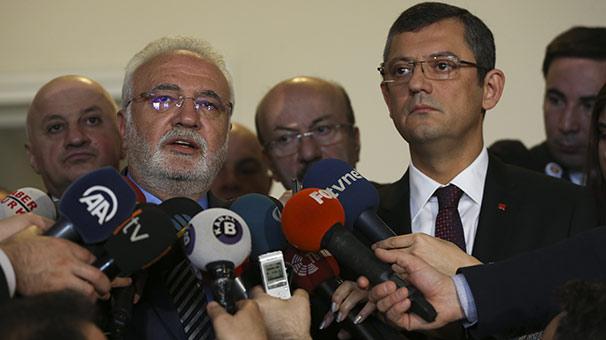 CHP, seçim güvenliği raporunu AK Parti'ye sundu