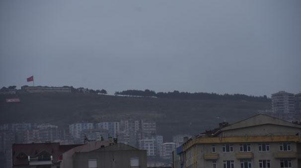 Sinop'ta füze deneme atışları yapılıyor