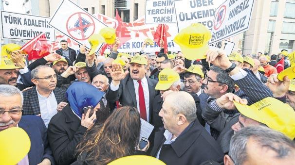 'Yakıp yıkarız' sözü taksicileri böldü!