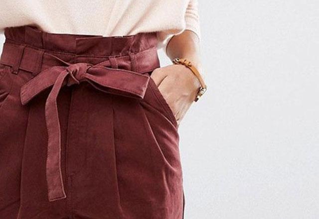 Trend alarmı: Paper bag pantolon