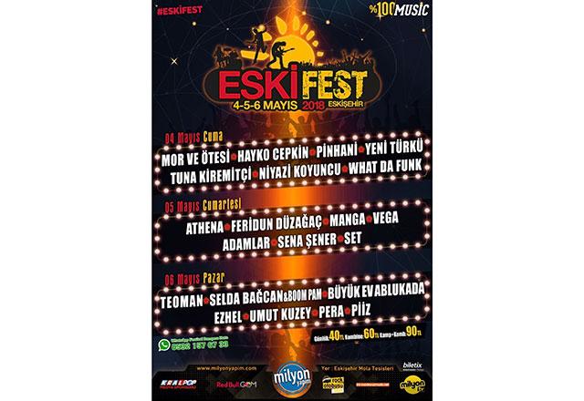 En yeni festival ESKİFEST