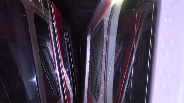 Ankara metrosunda kaza! Seferler durdu