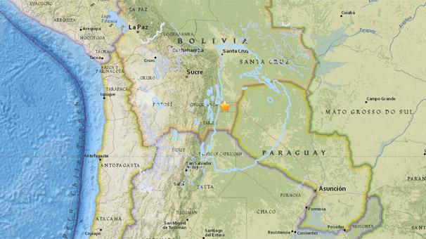Son dakika... Bolivya'da 6.8 büyüklüğünde deprem