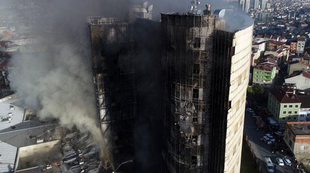 Son dakika: Taksim İlkyardım Hastanesi'nde büyük yangın!