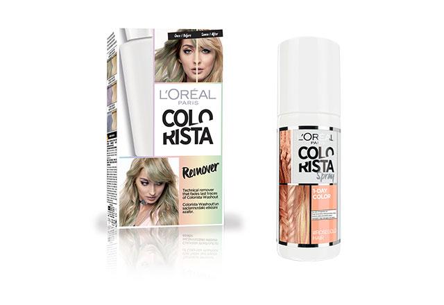 L'Oréal Paris'in en genç saç boyası Colorista