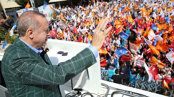 Cumhurbaşkanı Erdoğan Beykoz'a müjdeyi verdi