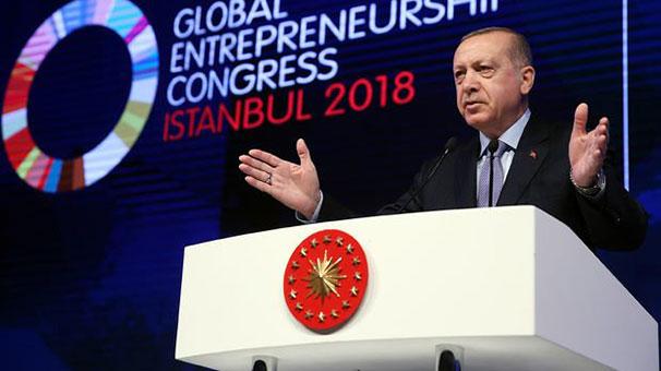 Cumhurbaşkanı Erdoğan'dan dolar yerine altınla borçlanma önerisi