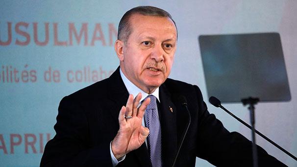 Cumhurbaşkanı Erdoğan: Kan kokusu almış köpek balığı gibi geliyorlar