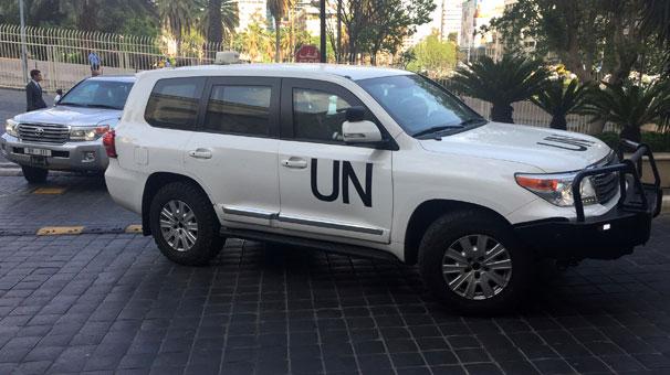 Son dakika... Suriye kimyasal silah denetçilerinin Duma'ya geçmesine izin vermedi