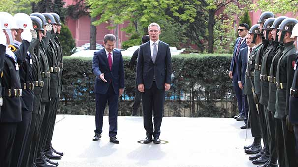 Son dakika: NATO Genel Sekreteri Jens Stoltenberg Türkiye'de