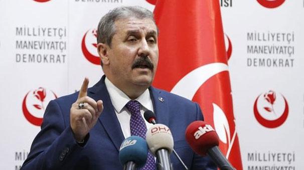 BBP Genel Başkanı Destici: Seçimlerde Erdoğan'ı destekliyoruz